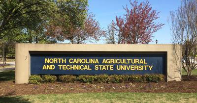 NCAT old campus sign