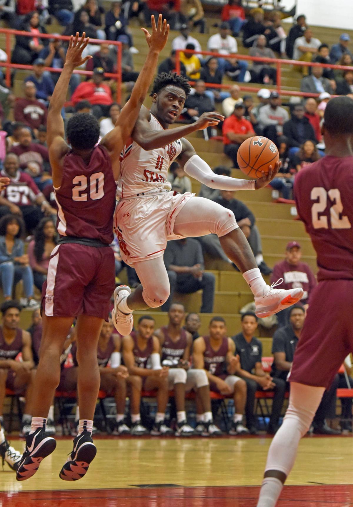 Winston-Salem State Morehouse basketball