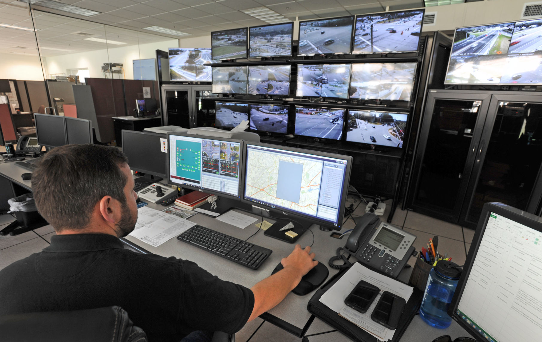 With Business 40 closing next month, Winston-Salem's traffic control center will be put to the test   Winston Salem Journal