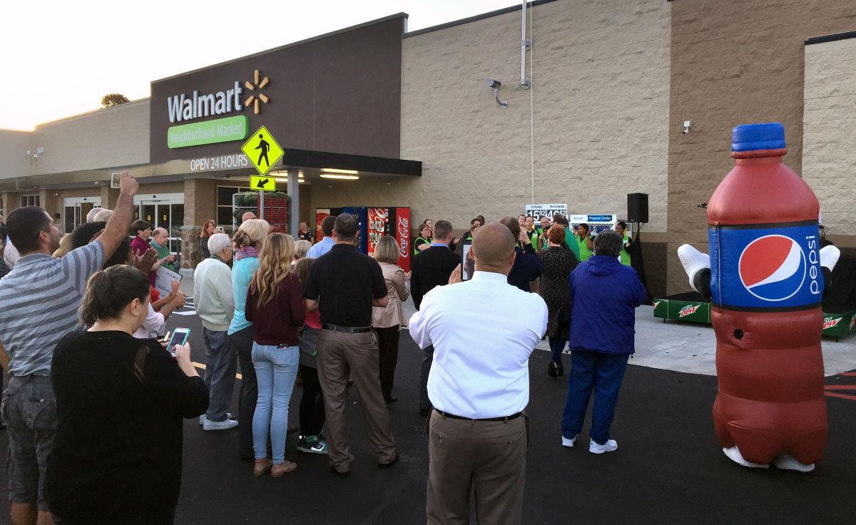 Walmart Opens Grocery Store In Clemmons News