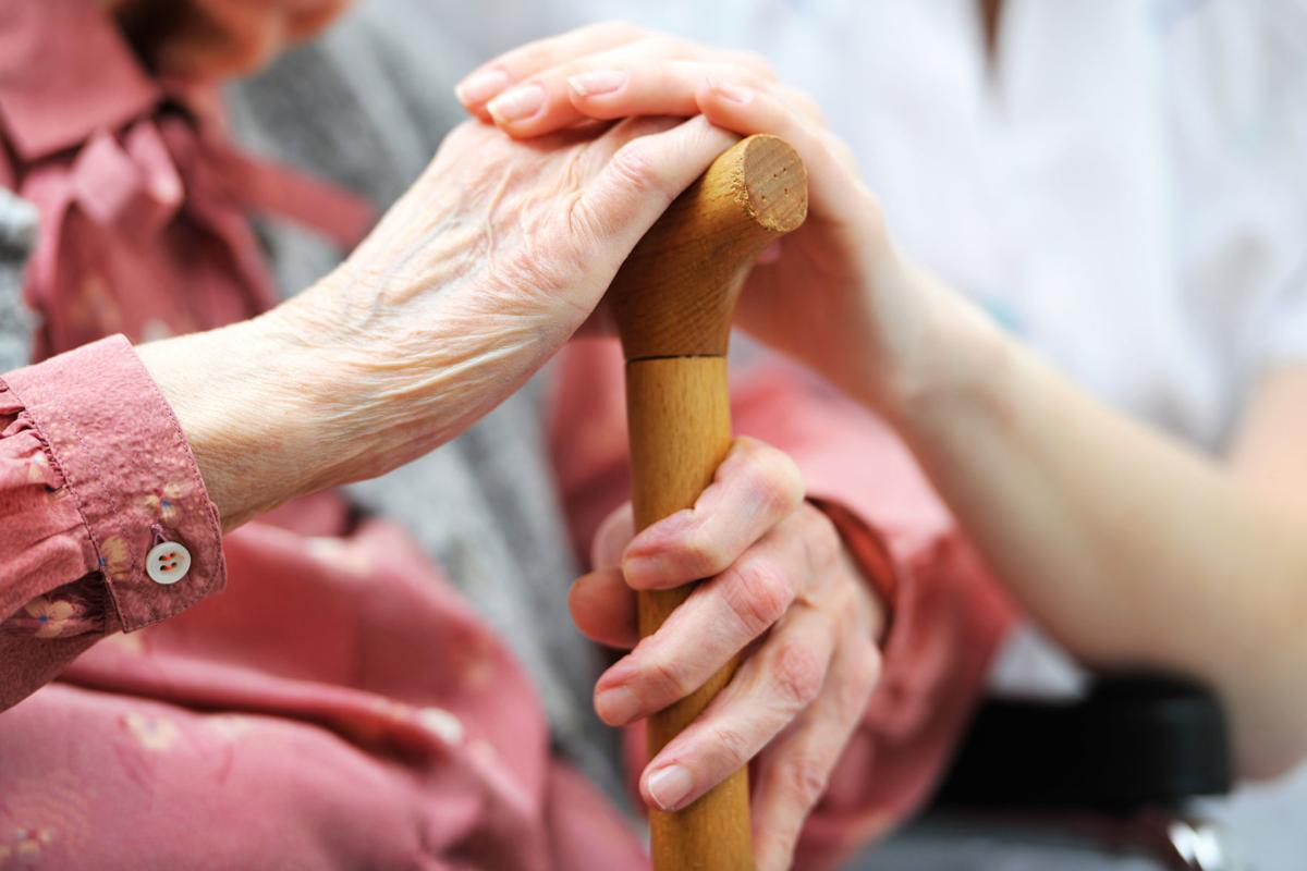 Senior woman with her caregiver at home WEB ONLY (copy)