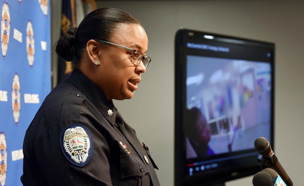 Hanes Middle School police body camera