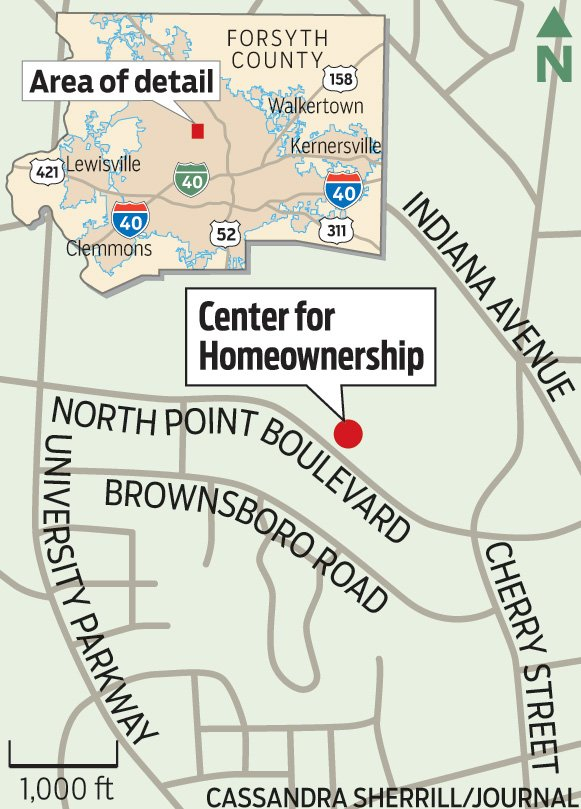 Center for Homeownership Map
