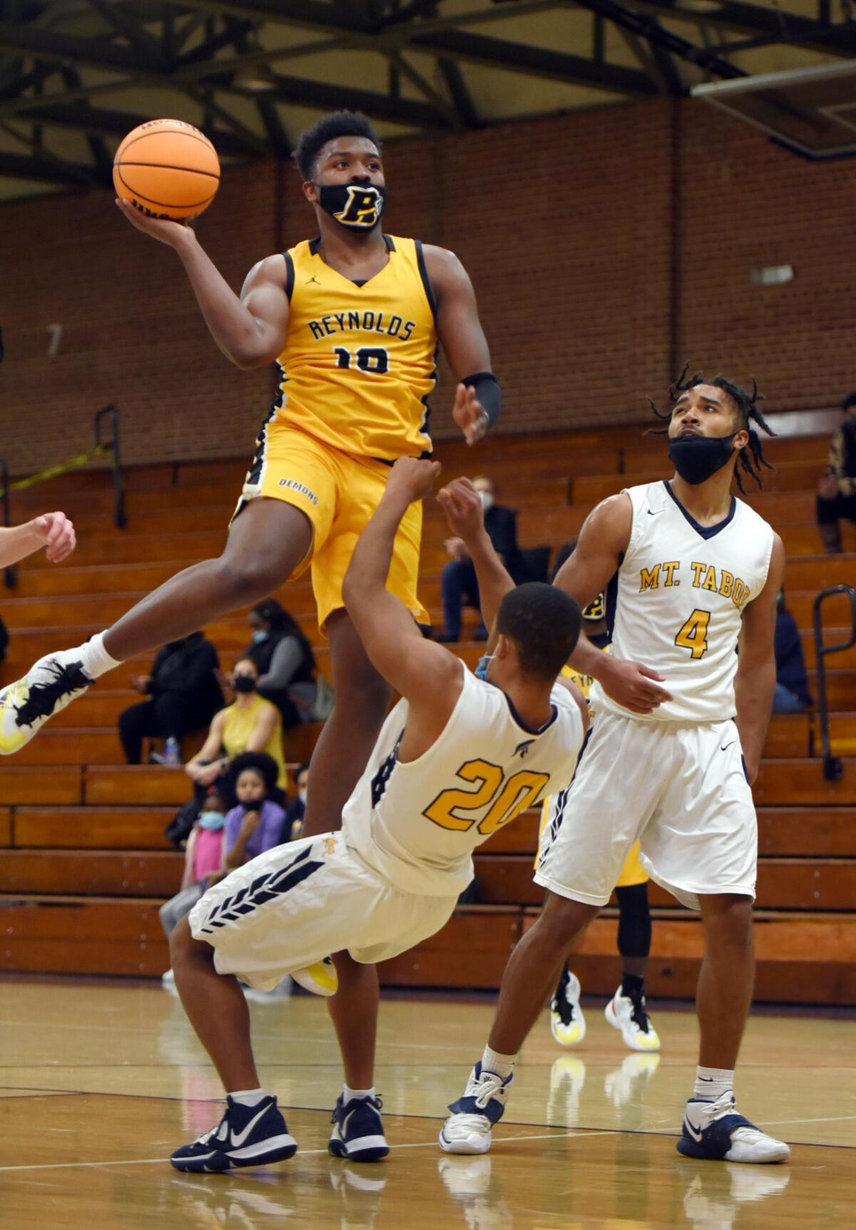 Reynolds Mount Tabor boys basketball