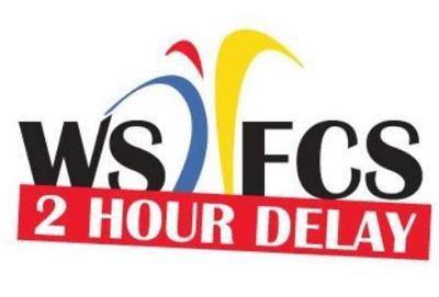 WSFC Schools 2 Hour Delay Graphic
