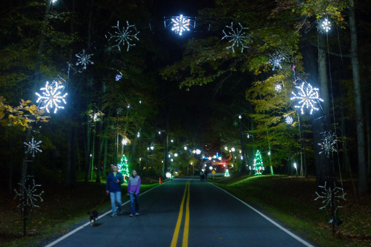 festival of lights features 5 new displays entrance fee