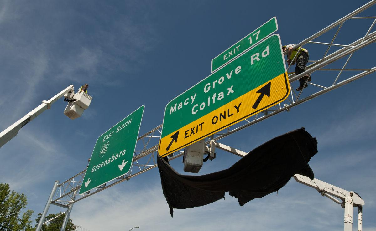 Macy Grove Road interchange now open on Business 40 in Kernersville