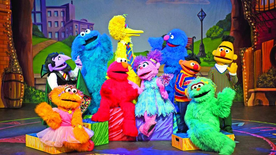 Open Sesame: Production brings a visitor to 'Sesame Street