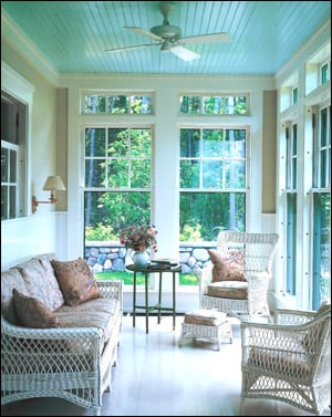 Smilinu0027 At Me: Blue Porch Ceilings May Have Been Born In S.C. Lowcountry