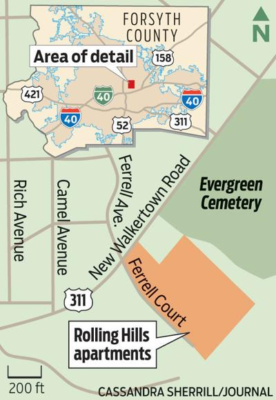 Residents Of Rolling Hills Apartment Complex Report Backed