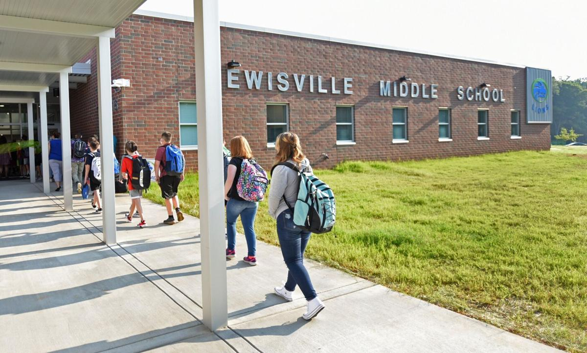 Lewisville Middle School opening