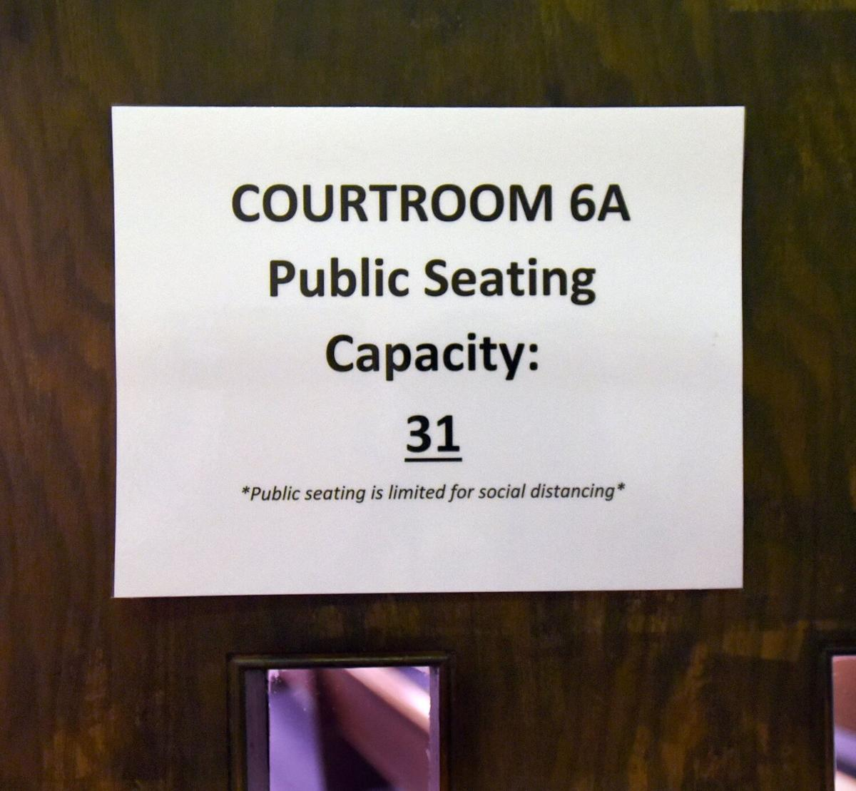 Courtrooms COVID upfit