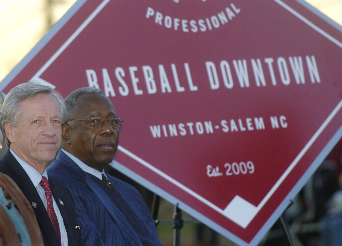 Allen Joines & Hank Aaron