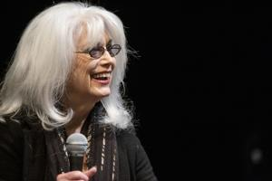 'I thought I was going to set the world on fire in acting,' Grammy-winning UNCG alum Emmylou Harris tells students