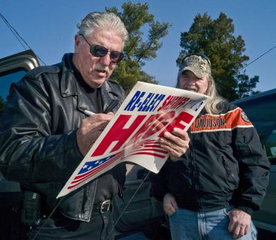 Gerald Hege to run for sheriff 14 years after guilty plea