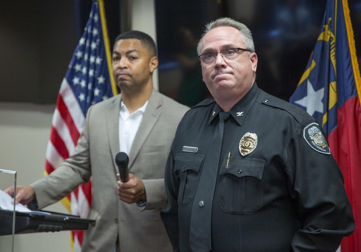 Greensboro police chief announces retirement