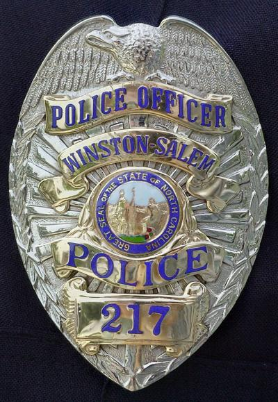 Winston-Salem police badge (copy)