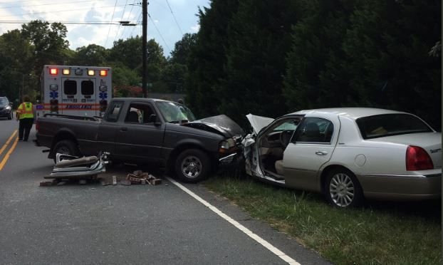 Robinhood Road Reopens After Accident Winston Salem Police Say