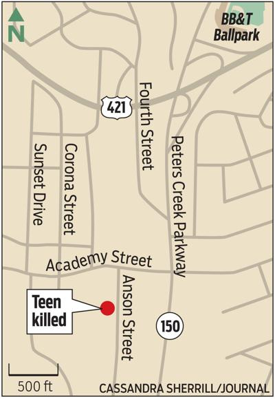 MAP: Homicide location
