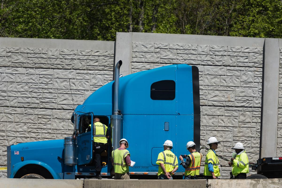 Driver who died in construction accident was killed by piece