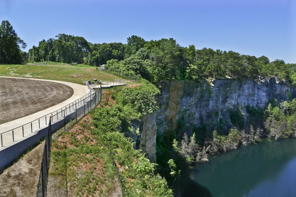 Take a virtual tour of winston salem 39 s new quarry park for Landscaping rocks winston salem nc