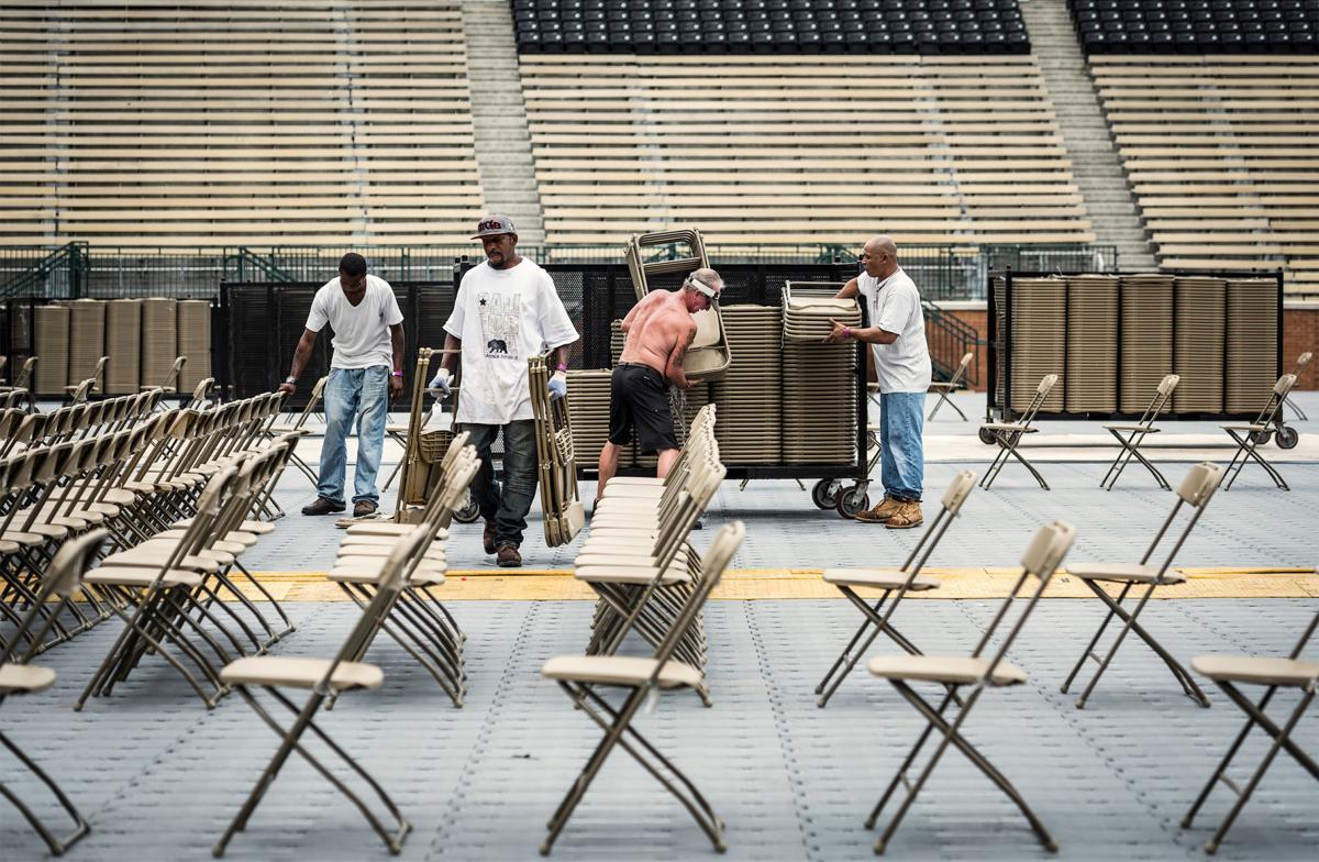 crews prepare for 36 000 expected guns n 39 roses concert goers local news. Black Bedroom Furniture Sets. Home Design Ideas