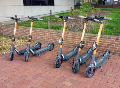 Spin scooters