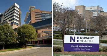 Wake Forest Baptist Medical Center, Forsyth Medical Center combined