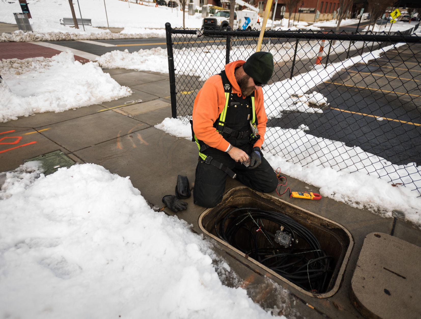 'We are in the business of staying prepared': First responders, hospital and shelter staffs work despite the winter storm. | Winston Salem Journal