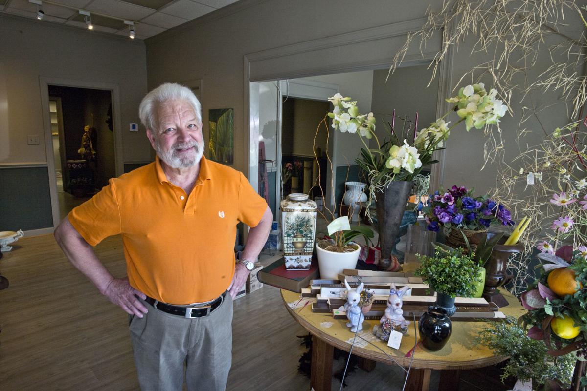 Price Davis, owner of Price Davis Florist at 1166 Burke St., is retiring and closing his shop.