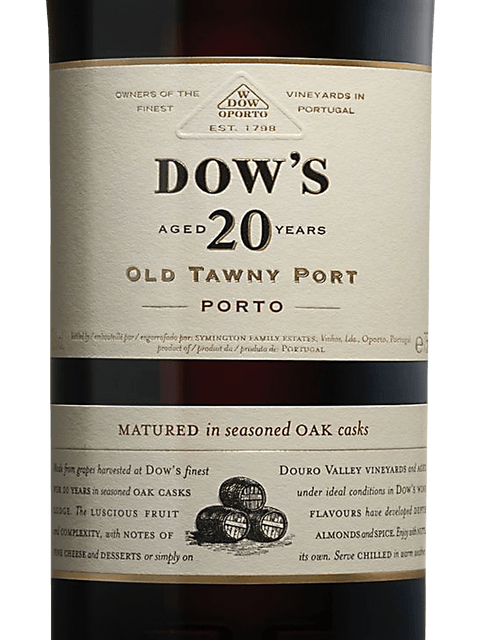 Dow's 20-year-old Tawny Porto