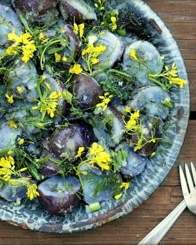 Danish Potato Salad With Garden Herbs