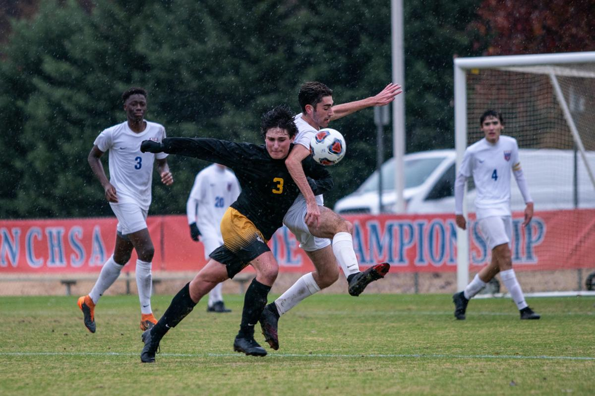 Reynolds Wake Forest NCHSAA boys soccer championship