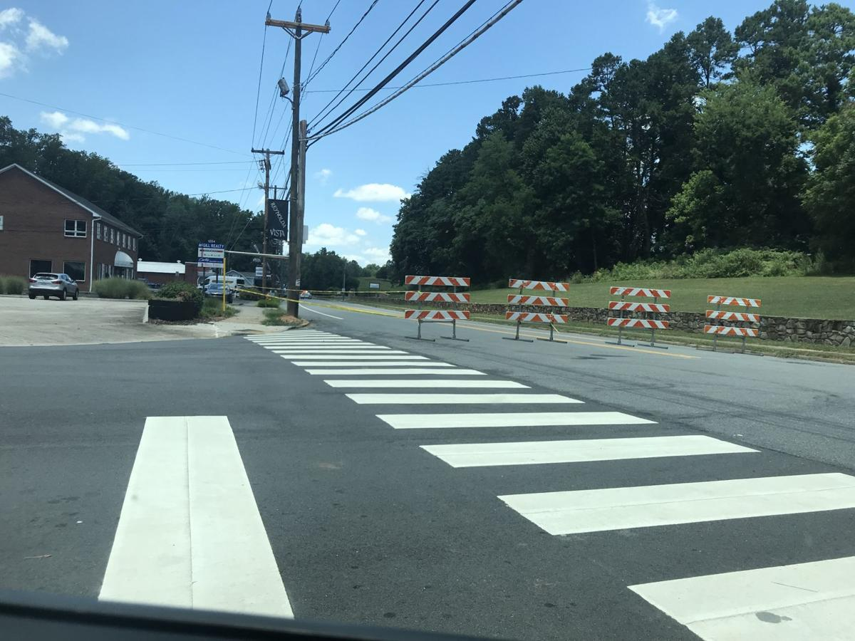 Reynolda Road closed temporarily