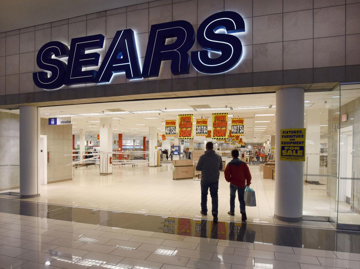 Sears Closes At Hanes Mall As Shoppers Pick Through Final