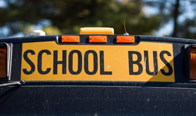 Forsyth County School Bus Rear Ended Friday Morning