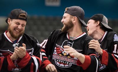 Thunderbirds FHL Championship Celebration