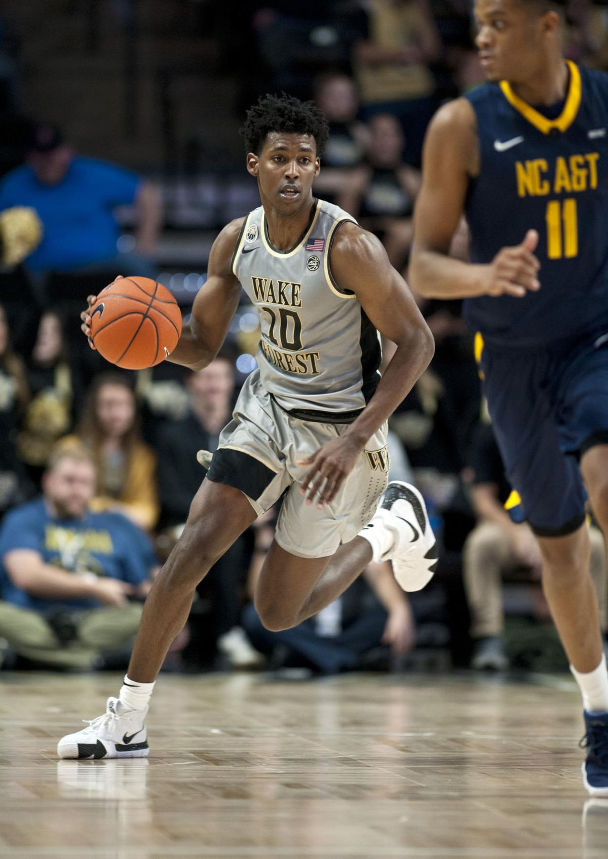 NC A&T Wake Forest basketball