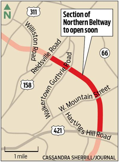 Portion of Northern Beltway to open soon