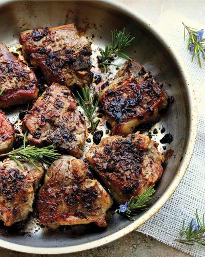 Porcini Lamb Chops