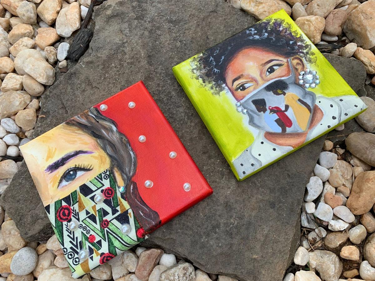 Mask painting