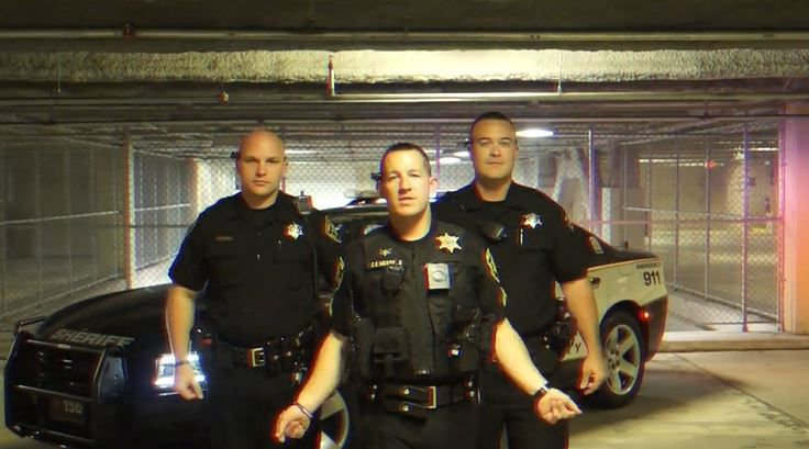 Forsyth County Sheriff's Office employees' lip-sync video a
