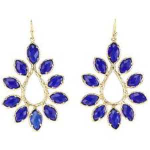 Cobalt Earrings