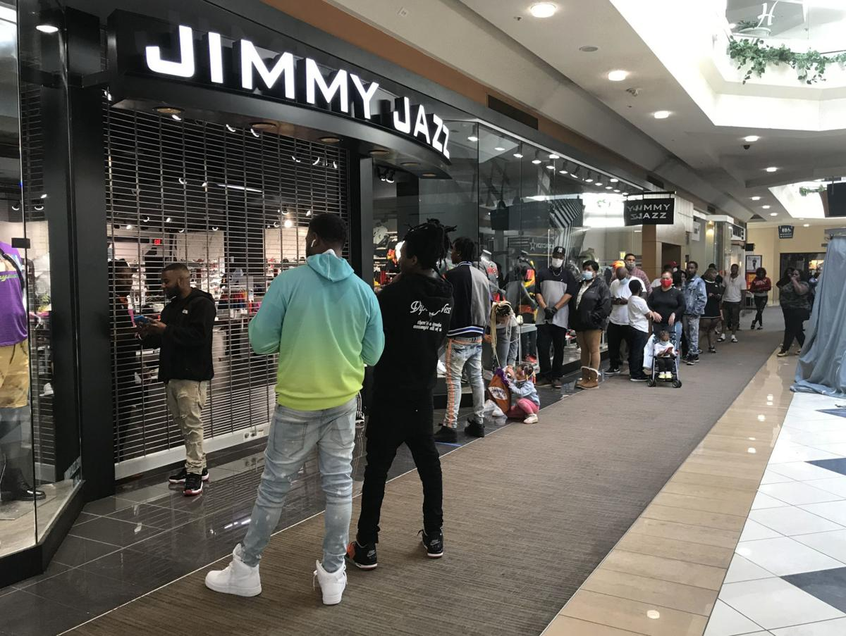 Hanes Mall reopens
