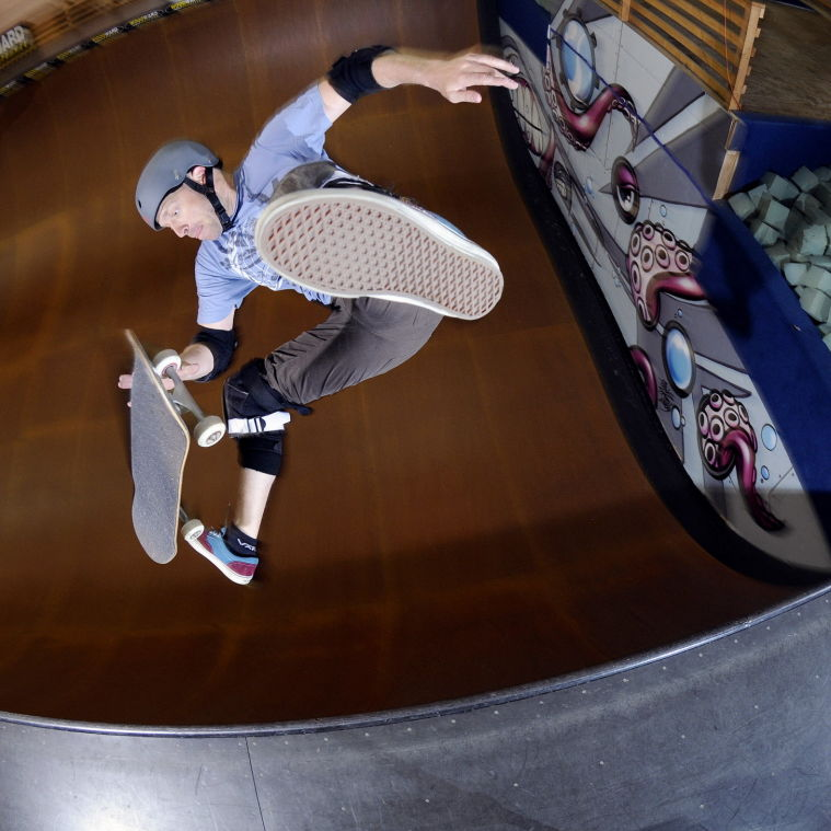 97f964847704 Lewisville native turns skateboarding into 20-year career | Local ...