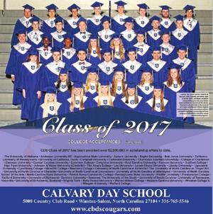 Calvary Day School - Congrats Class of 2017
