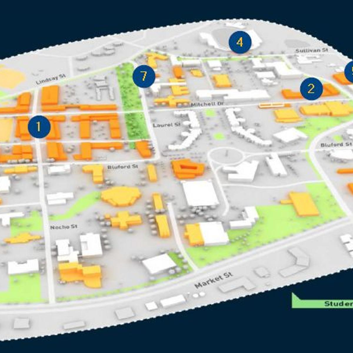 nc a t campus map The Syllabus Refreshing The N C A T Master Plan Journalnow Com nc a t campus map