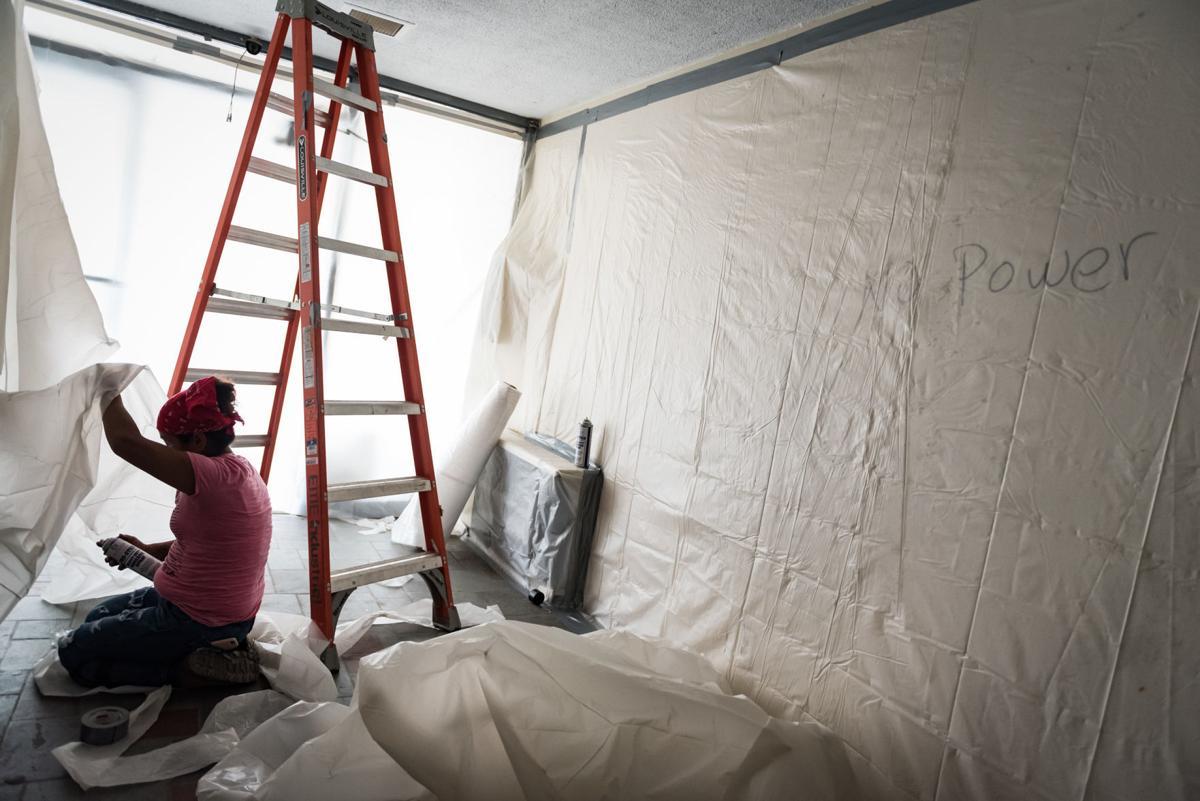 Budget Inn Demolition Preparation