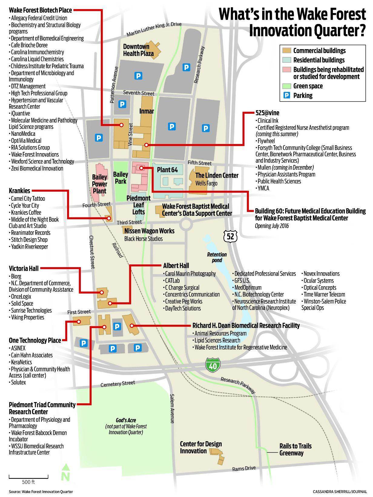 forsyth tech campus map Innovation As Driving Force Journalnow Com forsyth tech campus map