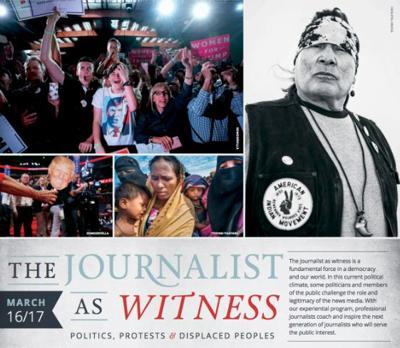 Journalist as Witness flyer